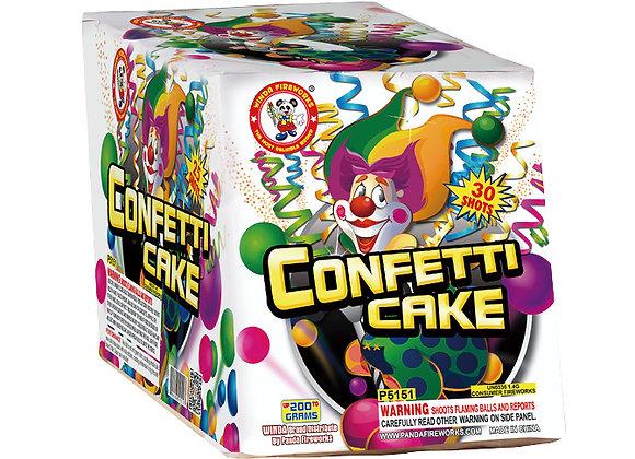 CONFETTI CAKE,30'S