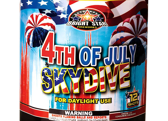 4TH OF JULY SKYDIVE 12 'S