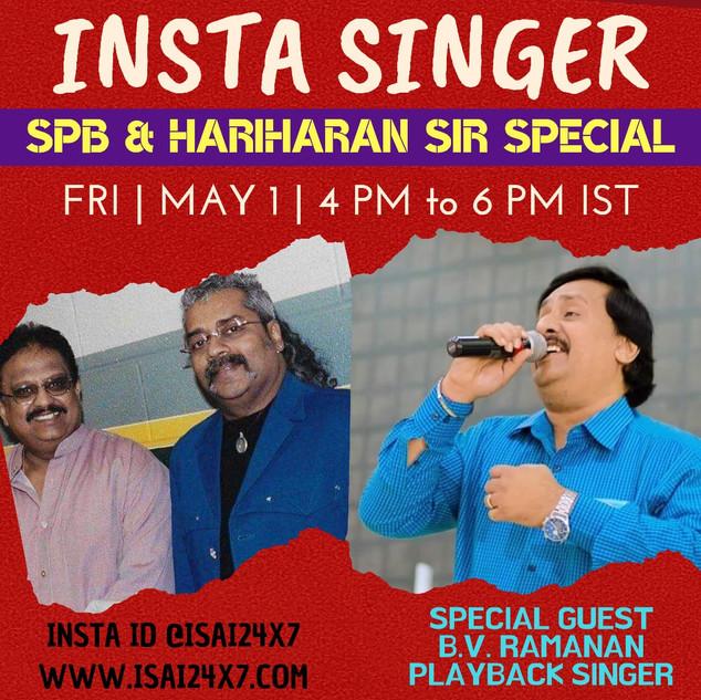 SPB & Hariharan Special