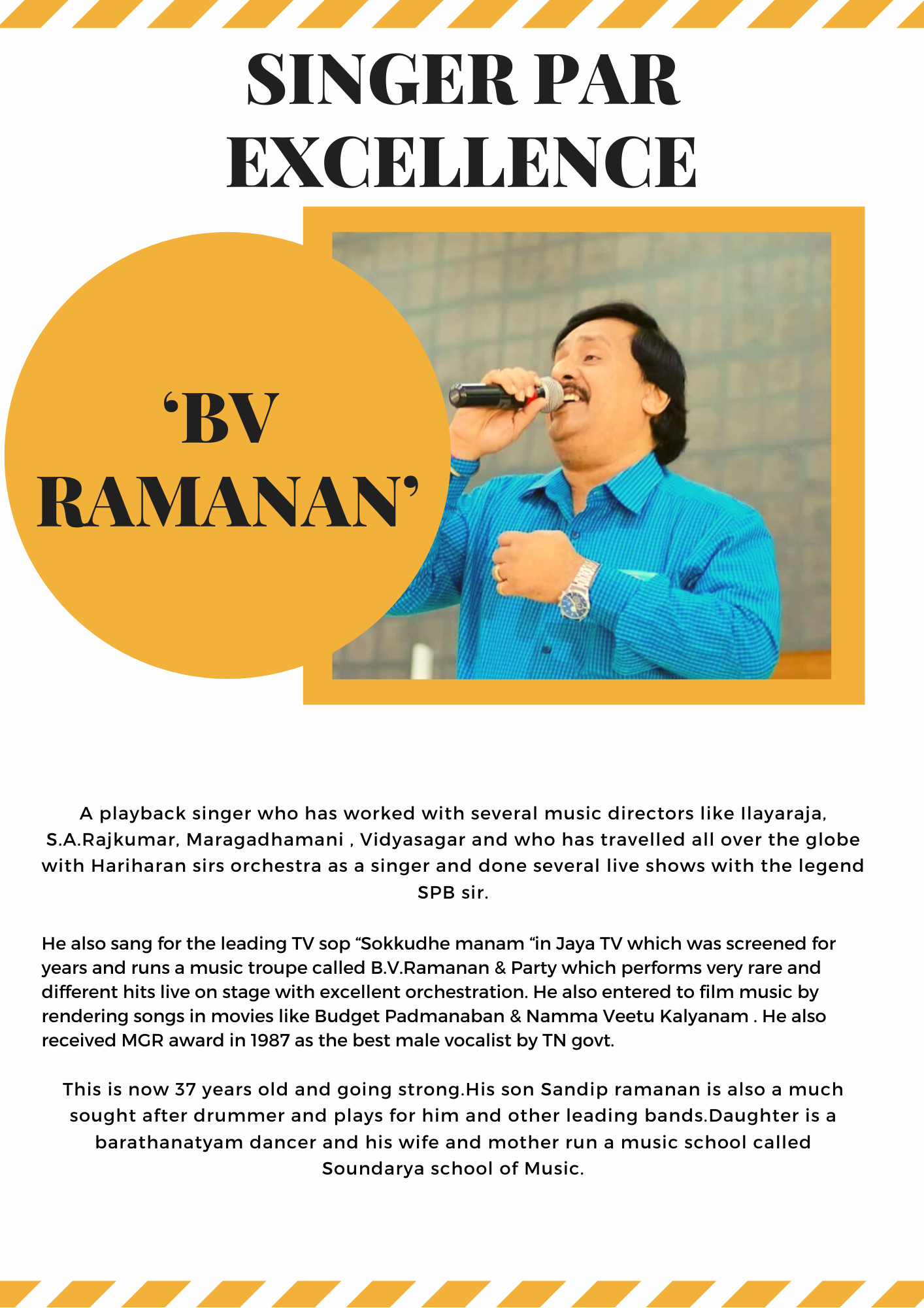 BV Ramanan
