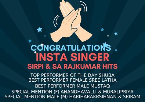 Sirpi & SA Rajkumar Hits
