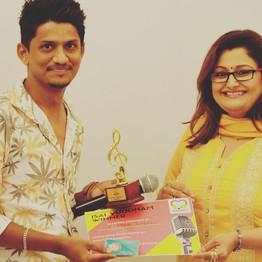 Best Male Singer - Karthik Kannan