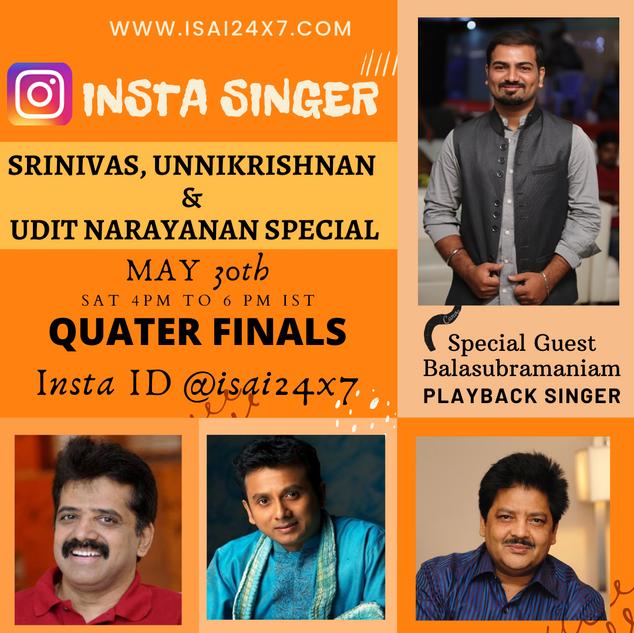 Unnikrishnan Udit Narayanan & Srinivas Special