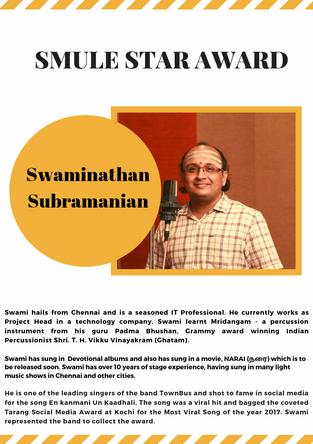 Swaminathan Subramanian