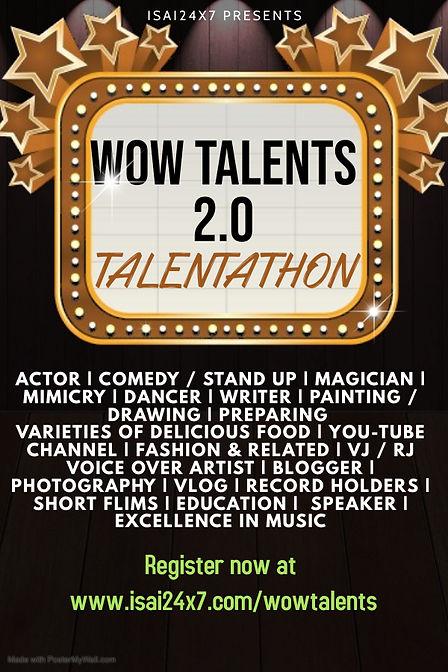 Copy of Talent Show Flyer Design Templat