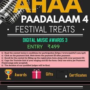 Ahaa Paadalam 4