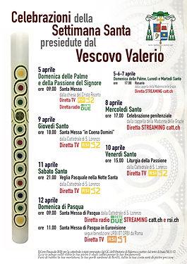 Covid-19_Settimana Santa col Vescovo_loc