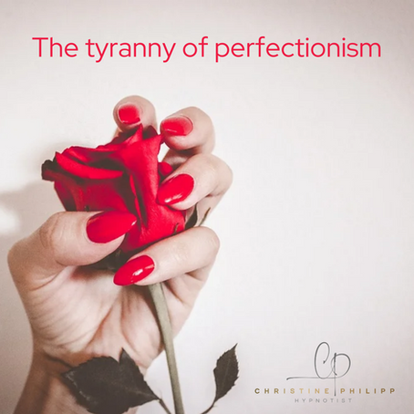 The tyranny of perfectionism