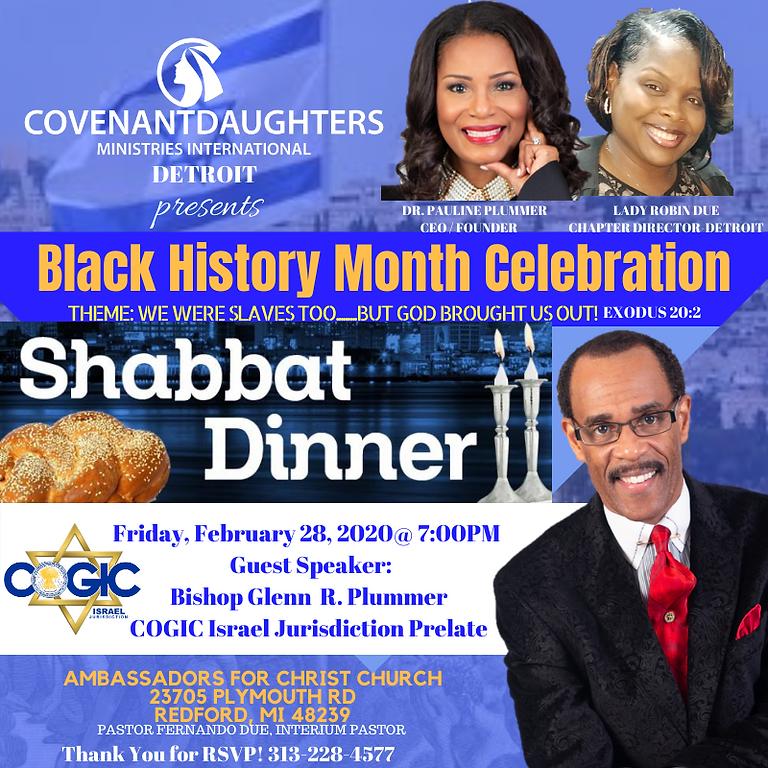 CD Black History Celebration 2020