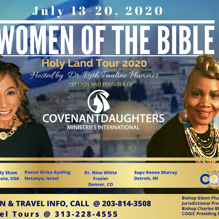 WOMEN OFTHE BIBLE HOLY LAND TOUR