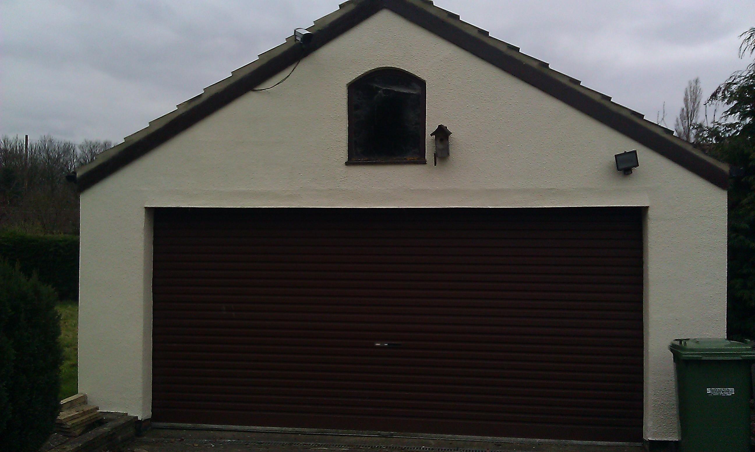 Completed Garage