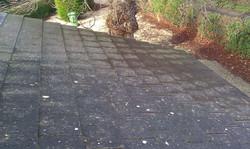 Clean slate roof