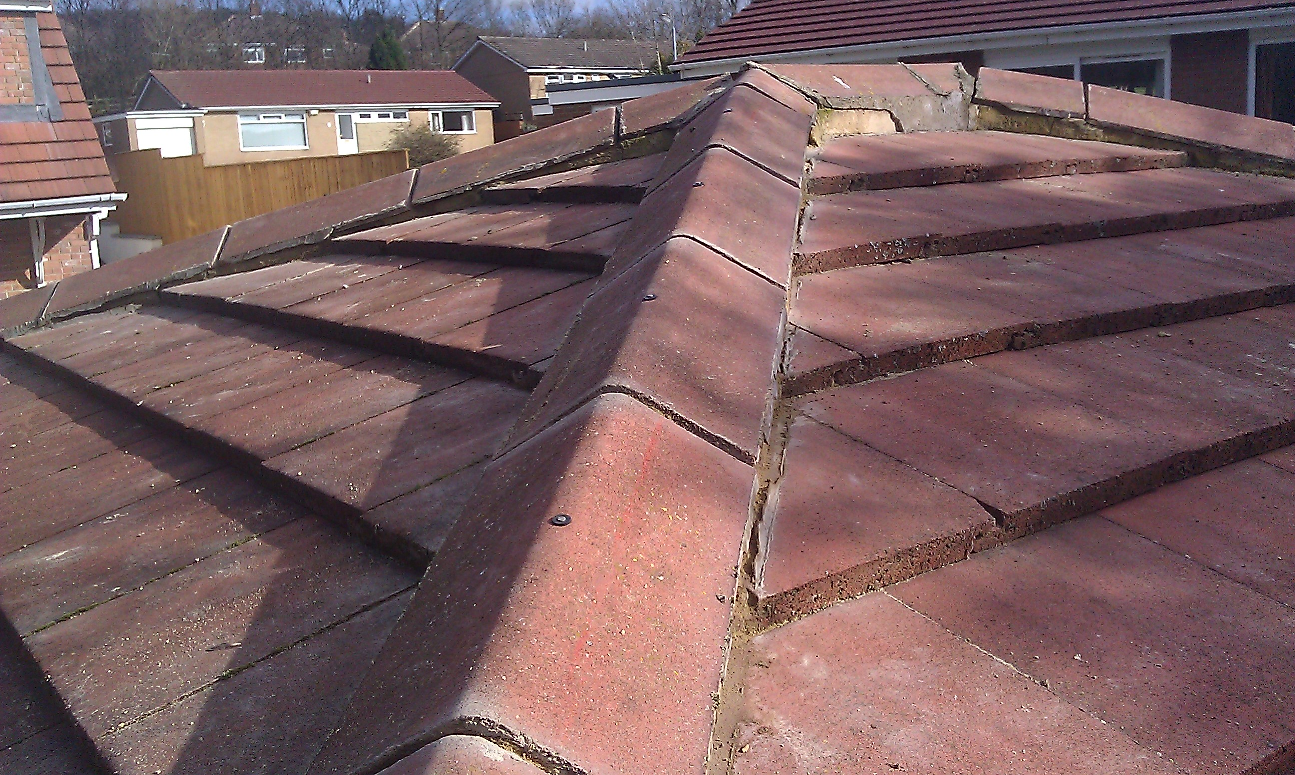 Roof needs repointing!!!!