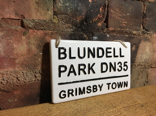 GRIMSBY TOWN-Blundell Park