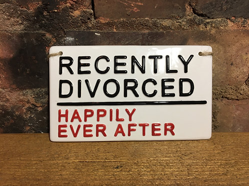RECENTLY DIVORCED-Happily Ever After