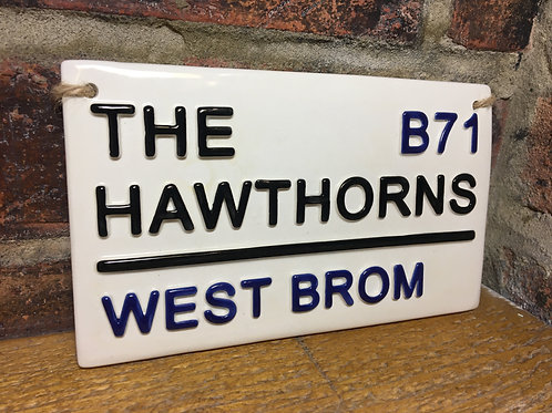 West Brom-Football Sign