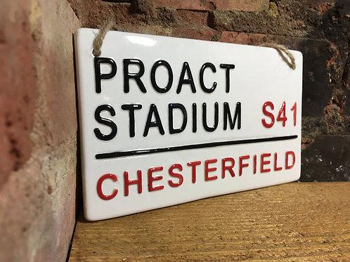 CHESTERFIELD-Proact Stadium