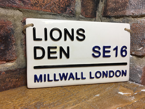 MILLWALL-The Lions Den