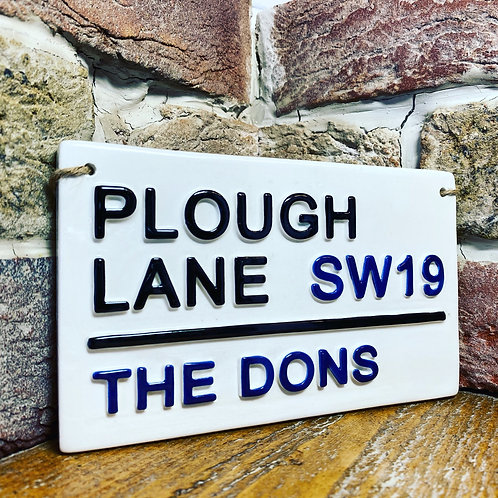 THE DONS-Plough Lane