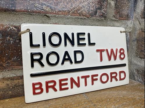 BRENTFORD-Lionel Road