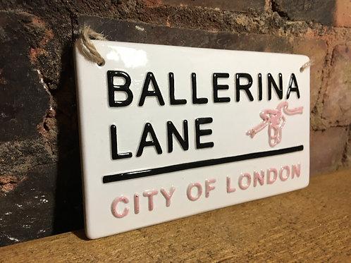 BALLERINA LANE-City Of London