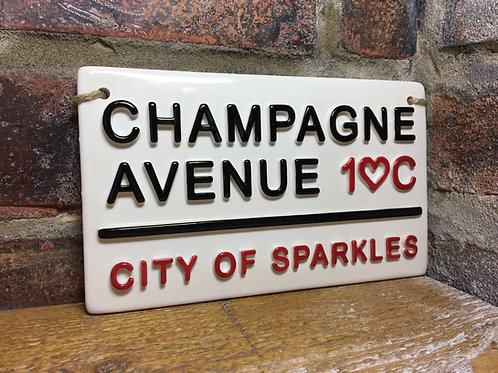 CHAMPAGNE AVENUE - City Of Sparkles