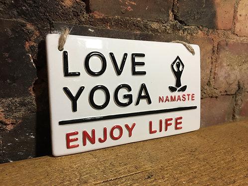 LOVE YOGA-Enjoy Life
