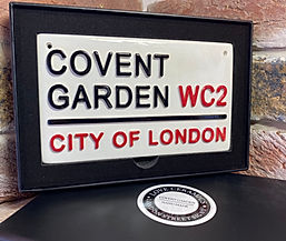 Love Ceramics-London Street Signs-Covent