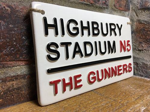 HIGHBURY STADIUM-Arsenal-The Gunners