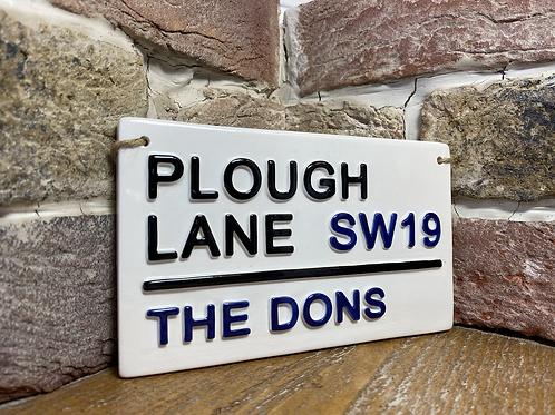 THE DONS-Plough Lane