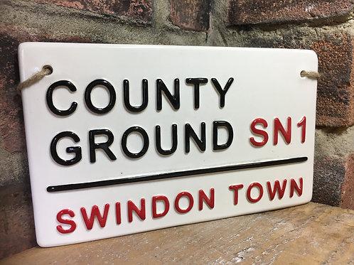 Swindon Town-County Ground