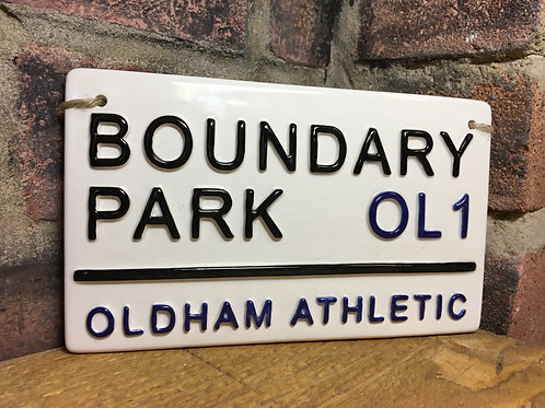 OLDHAM ATHLECTIC-Boundary Park