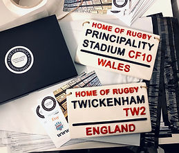Love Ceramics-Rugby Signs