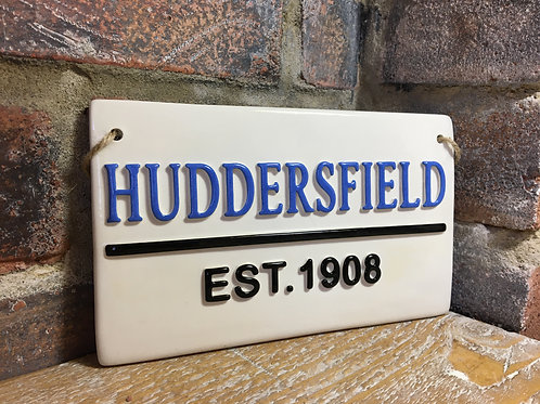 HUDDERSFIEL-Est.1908