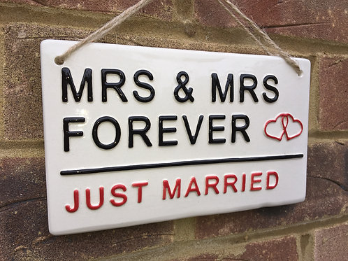 MRS & MRS-Just Married