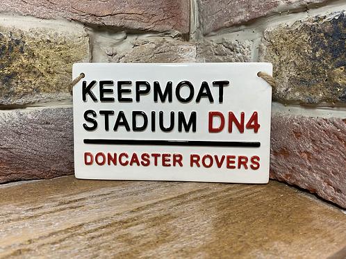 DONCASTER ROVERS- Keepmoat Stadium