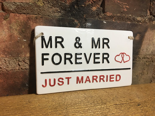 MR & MR FOREVER - JUST MARRIED