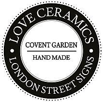 Love Ceramics-London Street Signs