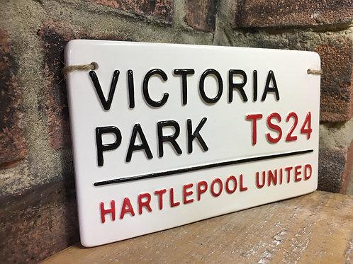 Hartlepool United-Victoria Park