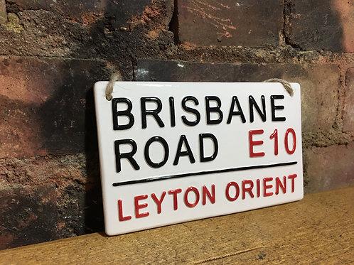 LEYTON ORIENT-Brisbane Road