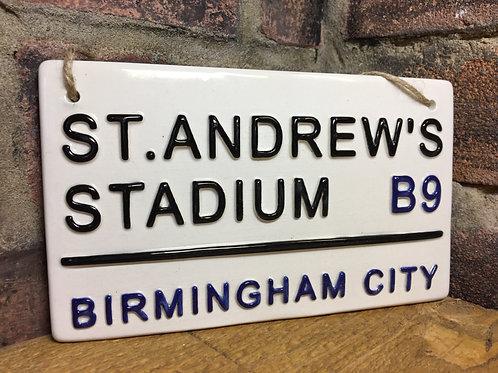 BIRMINGHAM CITY-St Andrews Stadium