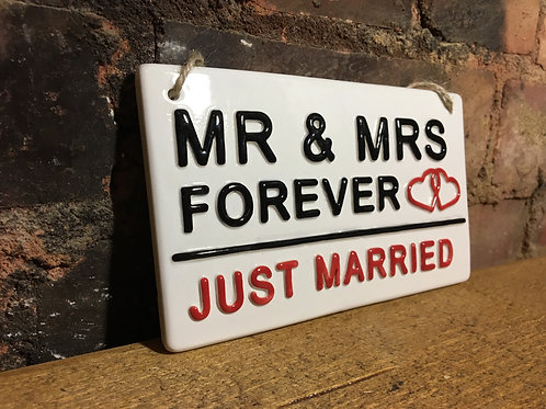 MR & MRS- Just Married