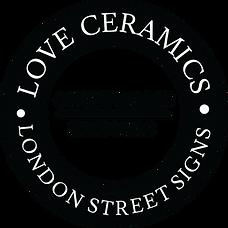 love ceramics london street signs