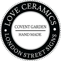 love ceramics london street signs