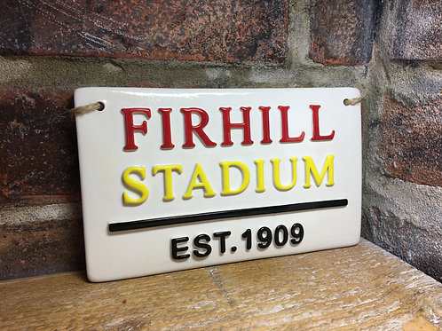 FIRHILL STADIUM-Partick Thistle