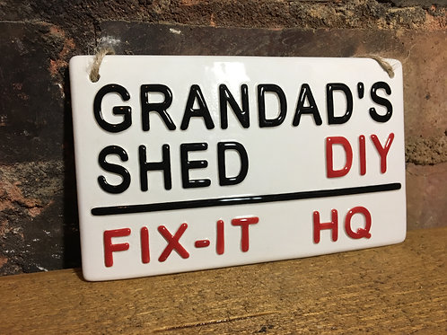 GRANDADS SHED