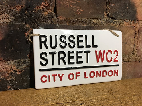 RUSSELL STREET-City Of London