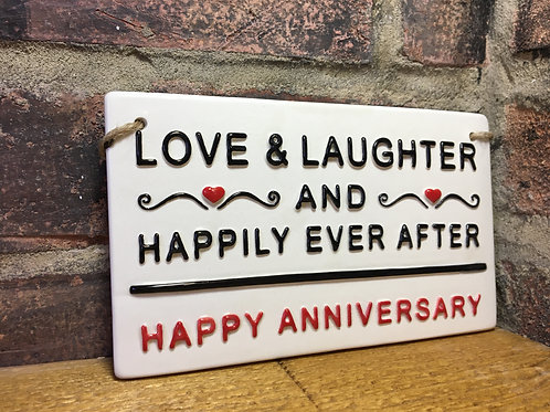 LOVE & LAUGHTER-Happy Anniversary