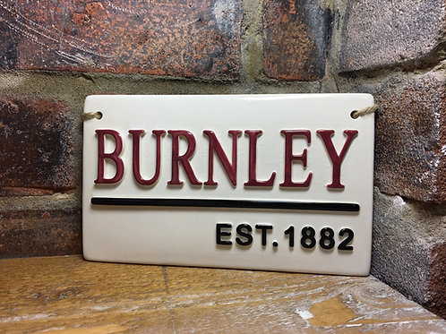 BURNLEY-Est.1882