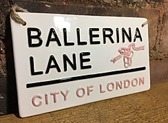 LOVE CERAMICS-Ballerina Lane, City Of London.